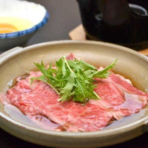 秋の夕食2019年、岩手県産牛の柳川鍋