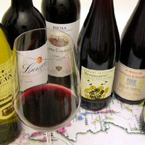 *【ワイン】飲みやすい味わいでお料理との相性も抜群。大人のディナータイムを。