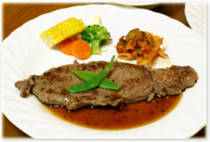 (夕食例)サーロインステーキ(オーストラリア産)