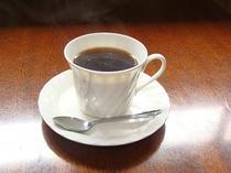 魚拓ギャラリーでコーヒー