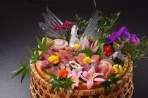 お刺身花かご造り一例