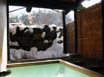 雪見の男女別露天風呂