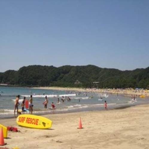 夏の弓ヶ浜海岸 徒歩約8分