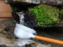 自慢の清水
