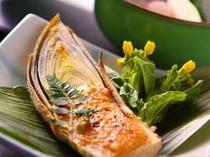 国産筍のみそ焼き 志賀高原産竹の子は6月です