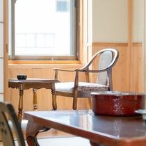 檜の間 落ち着いた和室です。