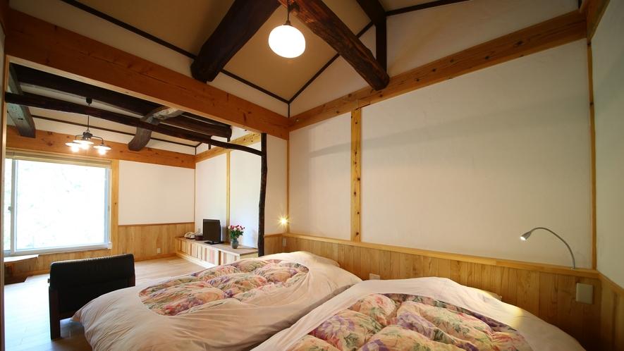 山法師の間 山荘風客室です