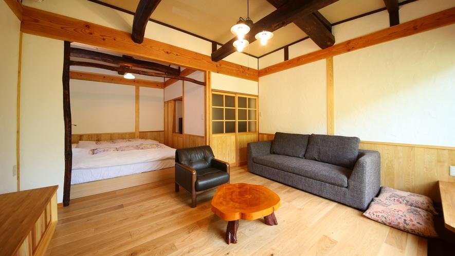 山法師の間 大自然と一体感のあるお部屋