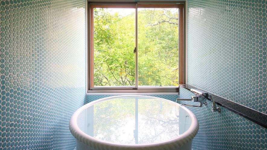 山法師の間 展望温泉風呂