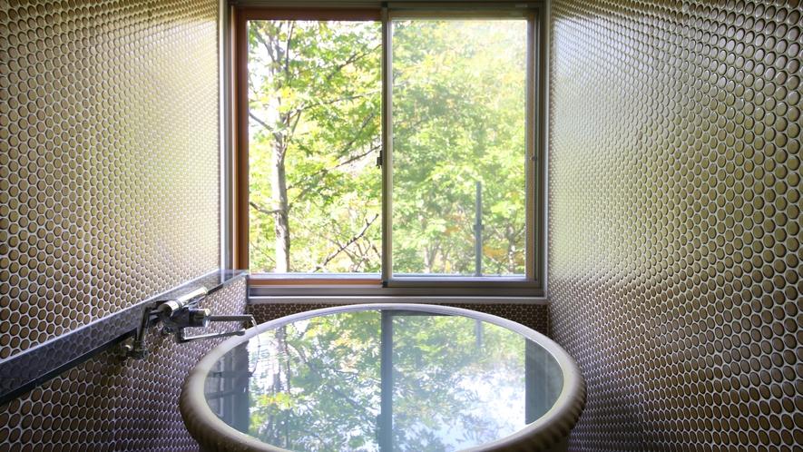 川胡桃の間 展望温泉風呂