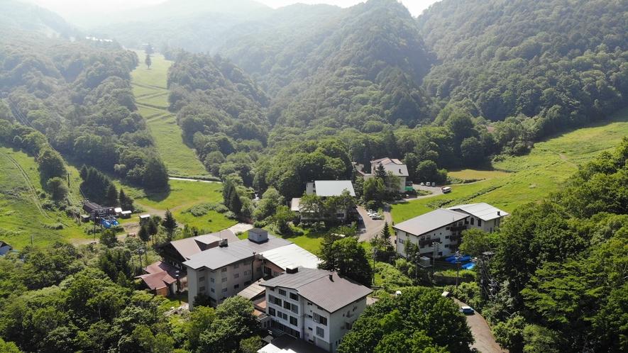 標高1350mの世界にある「渓谷の湯」