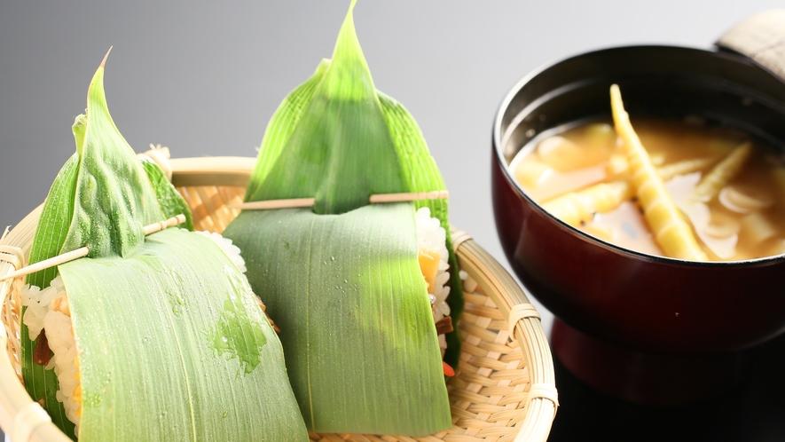 筍の季節のメニュー一例 美味しい旬の食材をお料理で