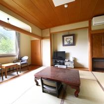 ゑ法師・笠法師客室:温泉が付いているのにリーズナブルなお部屋