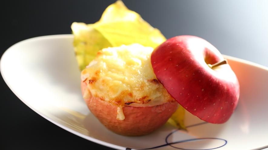 林檎グラタン 全部そのまま食べられます