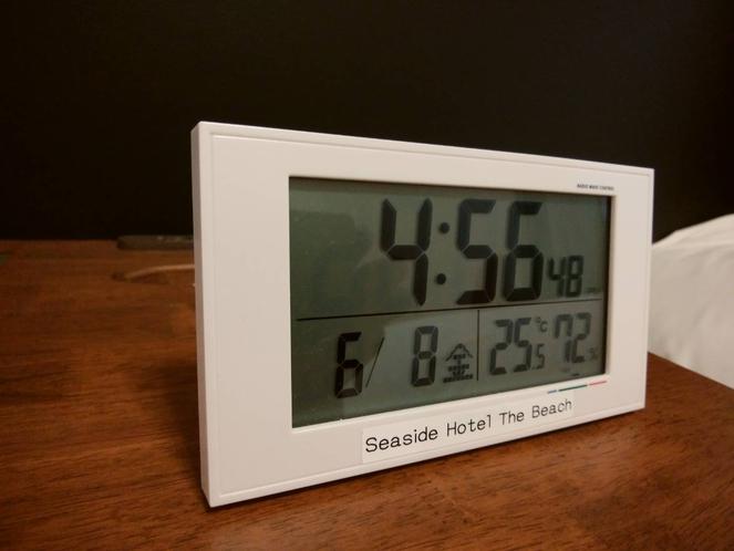 【目覚まし時計】