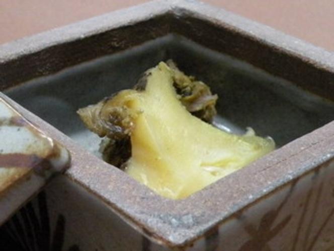 アワビの粕味噌漬け