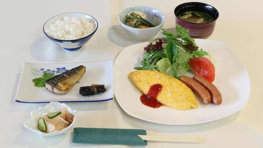 *【朝食一例】栄養バランスに優れています。