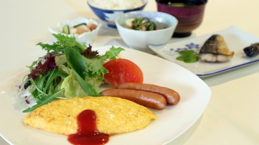 *【朝食一例】ボリュームたっぷりの朝食で、朝から元気いっぱいお過ごしください。