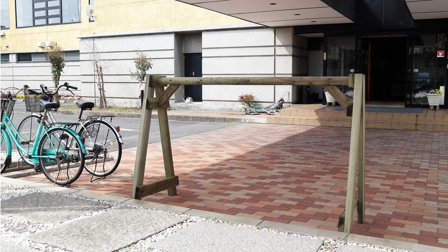 *【サイクルピット】サイクリスト歓迎!愛車を駐輪できるサイクルピットご用意しています。