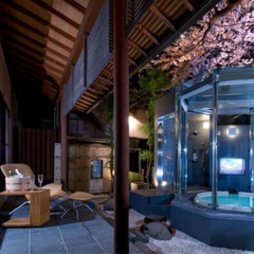 庭園露天風呂付特別貴賓室