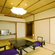 源泉露天風呂付き特別室「紅梅」