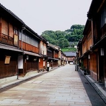 北陸随一の人気観光地である金沢