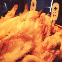 海×肉フェス2019「赤イカの天ぷら」