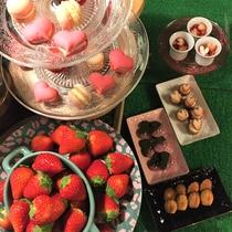 ホテル八木名物の「ストロベリースイーツフェア」は2020年5月中旬ごろまで毎日開催!
