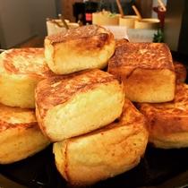 ホテル八木モーニングビュッフェ名物『焼きたてフレンチトースト』