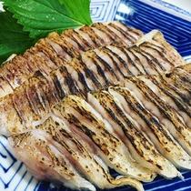 ディナーメニュー「本日の鮮魚のお造里・地物のどぐろ炙り」