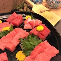 海×肉フェス2019「近海物・本マグロのお造里」