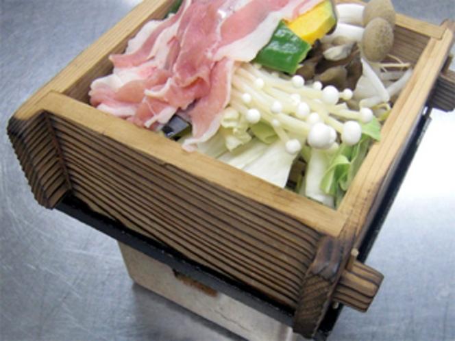 豚ロースと温野菜の蒸鍋