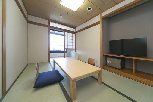和室6畳【禁煙】◆駐車場無料◆