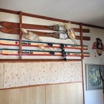 ★昔のスキー板★