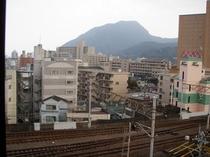 アネックス松美から眺める高崎山