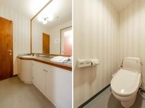 シングルルーム 洗面所