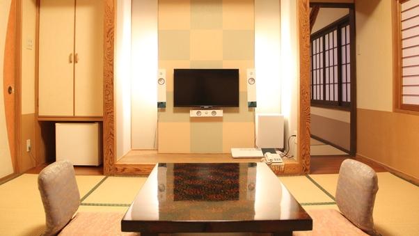 【和風モダン客室〜花椿〜】(本間8畳+8畳) 禁煙