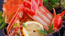 茹で蟹(イメージ) 山陰の冬の味覚の一品 人気の一品ですね