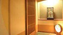 和風モダン客室~花椿~(禁煙)入口 バス無トイレ付 角部屋なので気兼ねなく!
