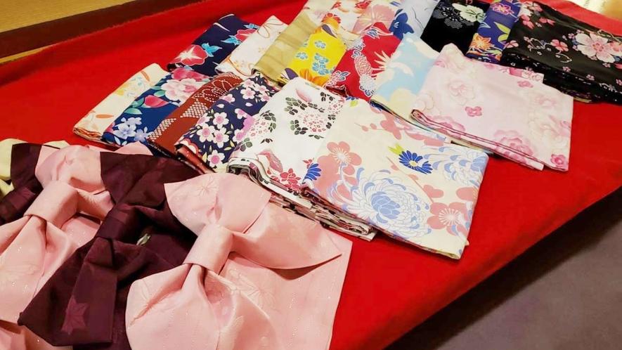 選んで楽しい着て嬉しい女性色浴衣