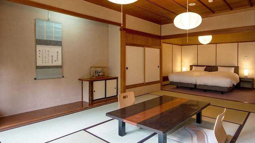 2020年4月リニューアル【登録文化財棟 新春の館・和洋室】