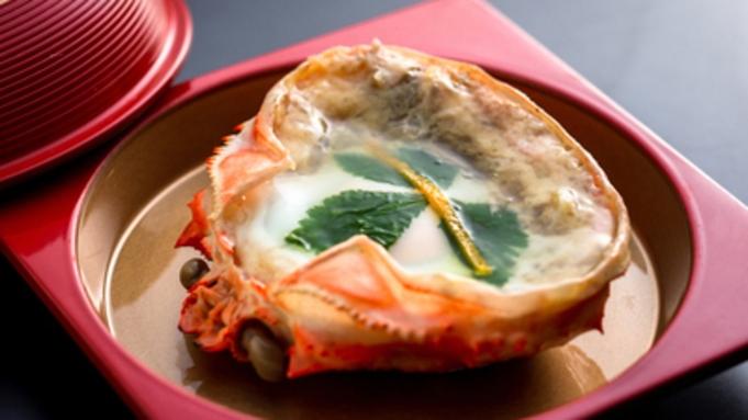 【蟹会席】かに刺し・焼きガニ・蟹天ぷら・茹で蟹・カニ鍋…贅沢!蟹会席♪
