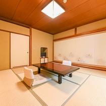 【庭園を望む客室(一例)】ゆったりとお過ごし下さい。