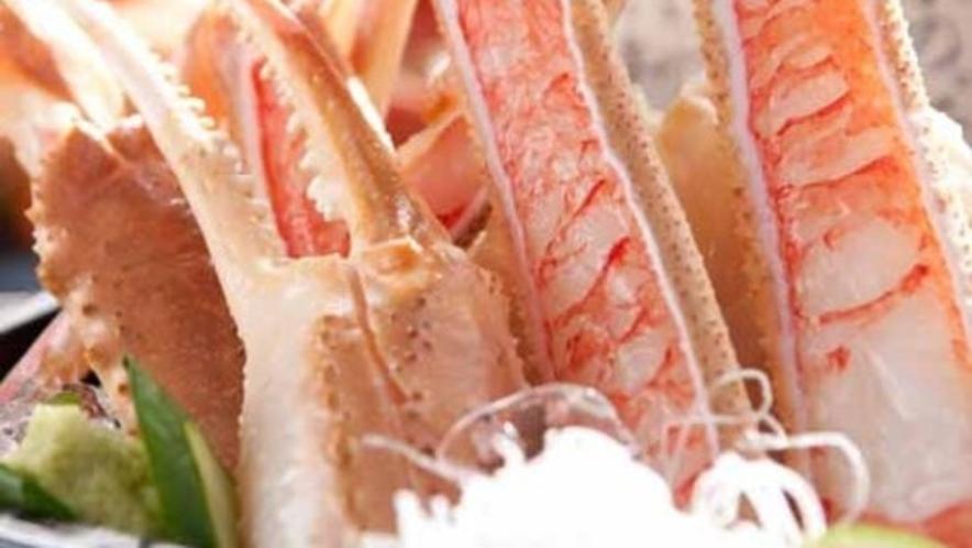 甘〜い蟹刺し
