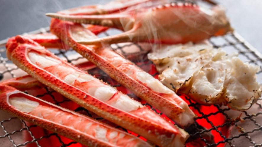 炭火焼き蟹