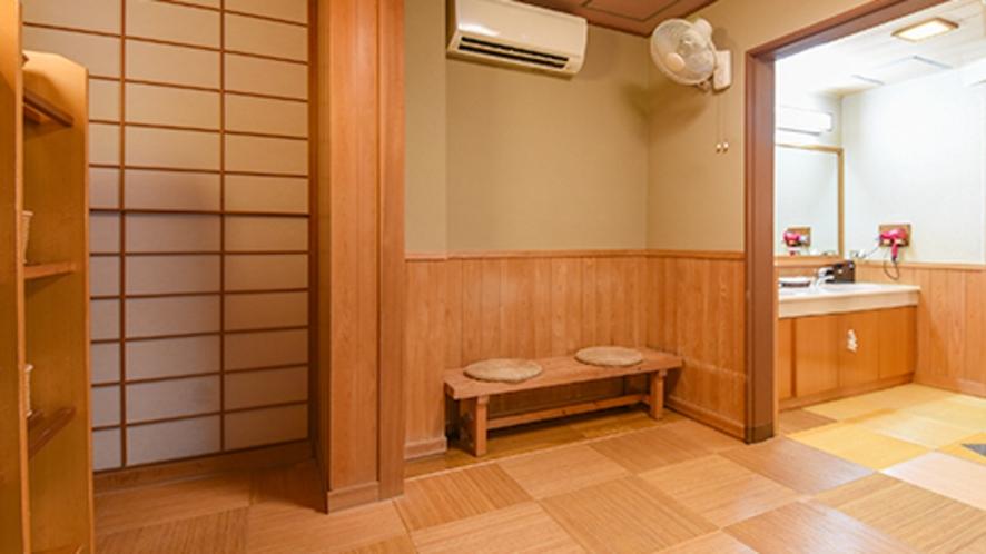 大浴場脱衣所(婦人用)