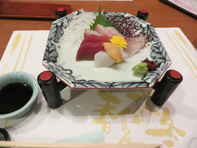 日本料理店のお造り