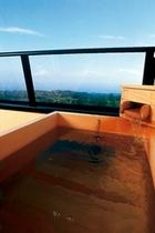檜風呂(客室露天)