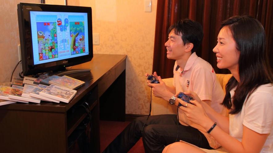 ゲーム機・ゲームソフト貸出
