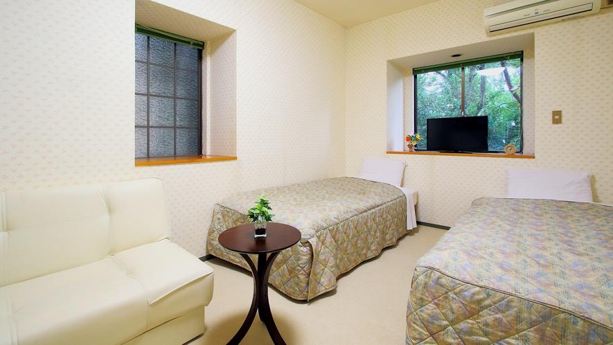 【客室一例】洋室